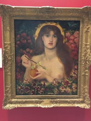 Venus Verticodia, de Dante Gabriel Rossetti