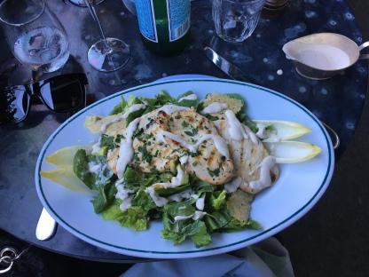 Caesar salad. Delícia!